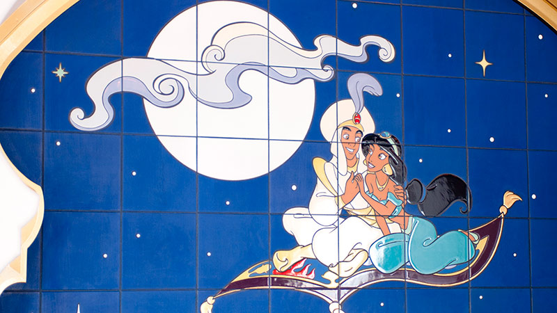 今日は満月~アラジン~のイメージ