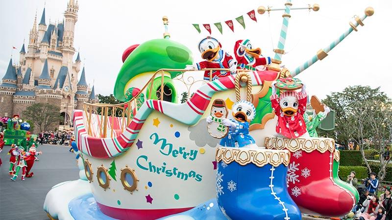 東京ディズニーリゾートのクリスマスのイメージ