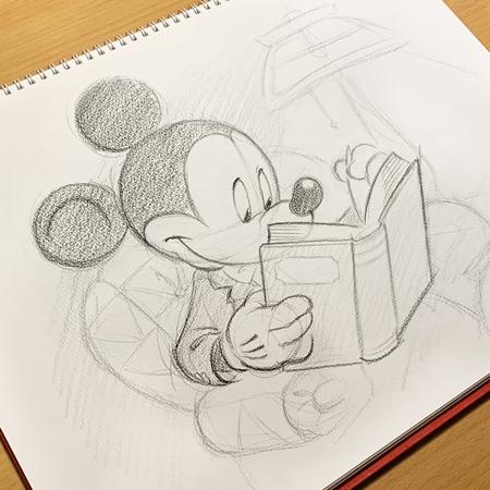 特別描き下ろしアートをご紹介~ミッキーマウス編~のイメージ