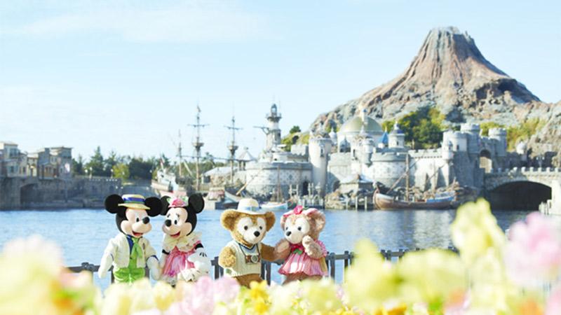 人気のダッフィーが登場!東京ディズニーシー、春のスペシャルイベント「ミッキーとダッフィーのスプリングヴォヤッジ」。のイメージ