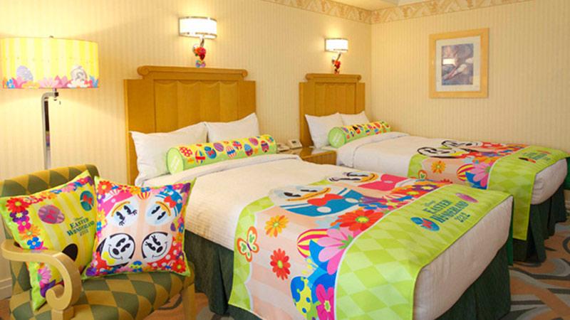 イースターの夢の続きは、ディズニーホテルで!のイメージ