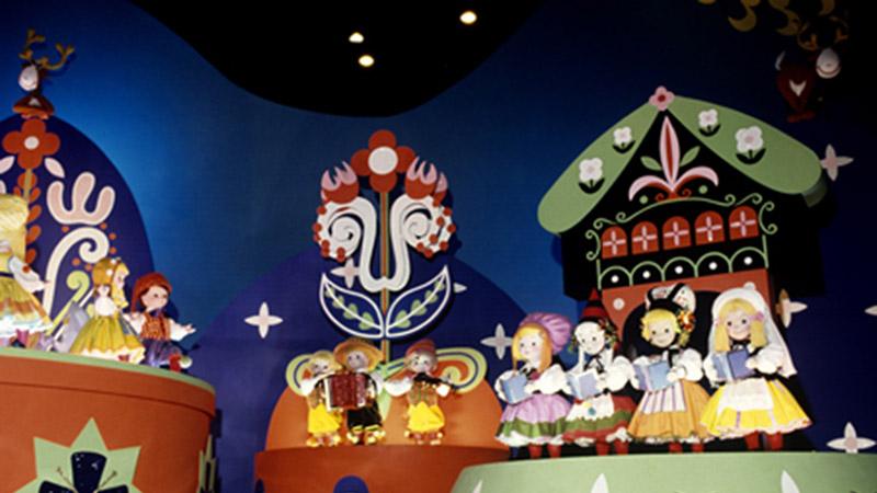 「イッツ・ア・スモールワールド」の初公開は、ディズニーランドじゃない!?のイメージ