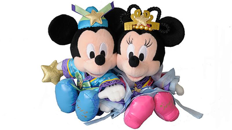 ミッキーとミニーが彦星と織姫に!かわいいグッズが登場します。のイメージ