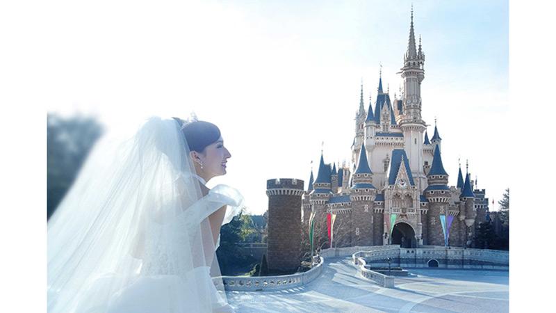 夢が現実に!シンデレラ城で叶う憧れの結婚式のイメージ