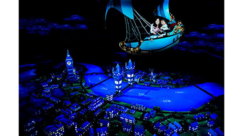 東京ディズニーランドから、ロンドンの夜空へ!のイメージ