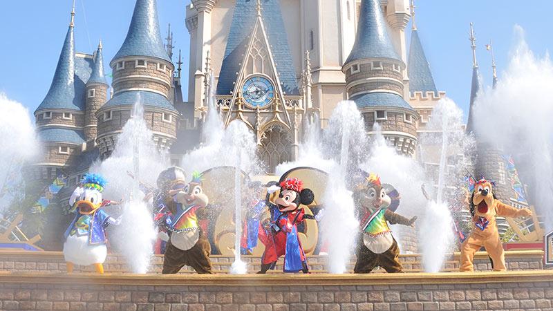 まだまだ暑いから!ディズニー夏祭り「爽涼鼓舞」で涼しくなろう☆のイメージ