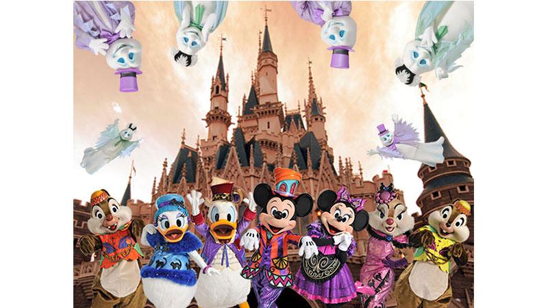いたずら好きのおばけやディズニーの仲間たちと一緒に!今年もディズニー・ハロウィーンを楽しもう!のイメージ