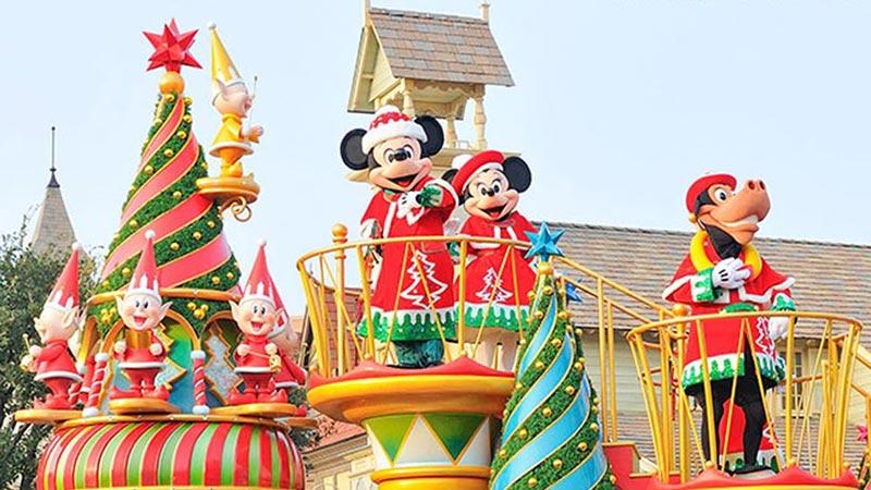 2つのパークのクリスマスを満喫する方法☆のイメージ