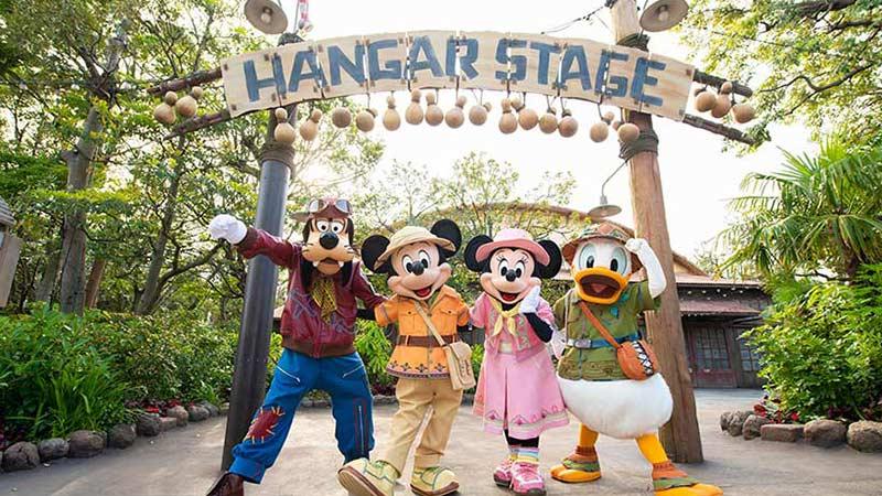 東京ディズニーシーにて7月23日スタートの新規ショー「ソング・オブ・ミラージュ」 ミッキーマウスやディズニーの仲間たちが物語の舞台に集結!のイメージ