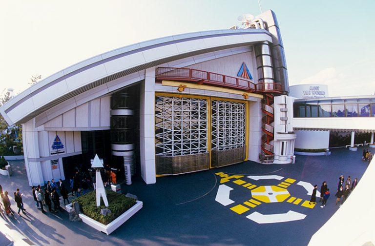 1989年スター・ツアーズ入口の画像
