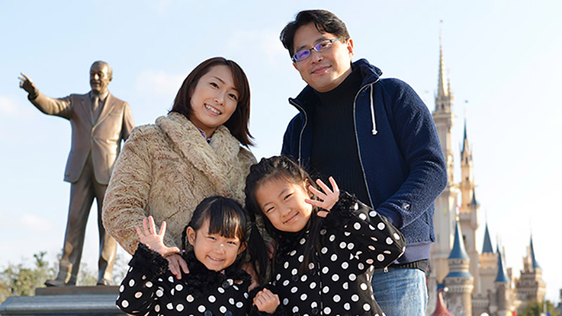 子どもの今に、出会う旅へ。今こそ家族で!東京ディズニーリゾートのイメージ