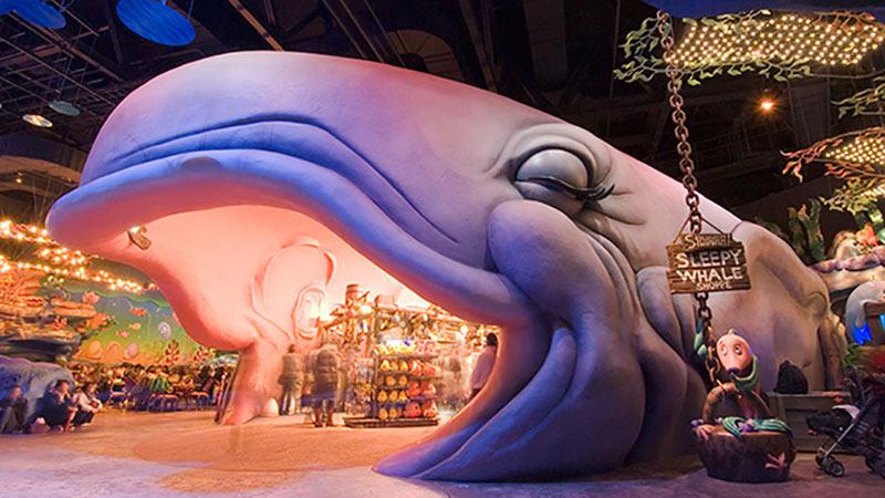 大きなクジラが口を開けている理由は・・・?のイメージ