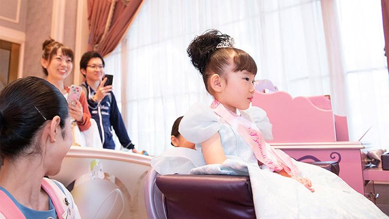 夢がかなう場所、東京ディズニーリゾートのビビディ・バビディ・ブティックのイメージ