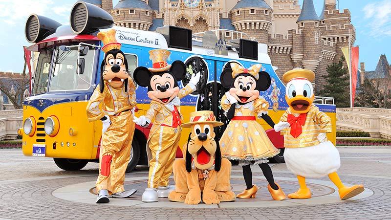 東京ディズニーリゾート30周年を記念して、全国30都市のお祭りに参加します!のイメージ