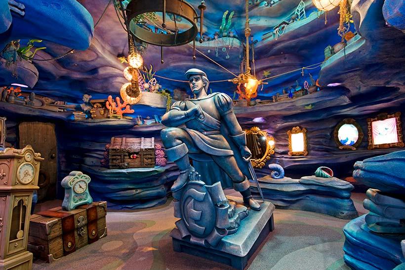 アリエルの秘密の洞窟の画像
