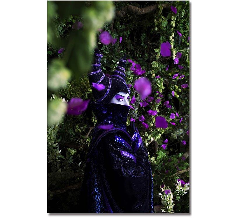 東京ディズニーリゾート・フォトグラフィープロジェクト,イマジニング・ザ・マジック,東京ディズニーリゾート35周年,写真家,蜷川実花さん,コラボレーション作品,マレフィセント