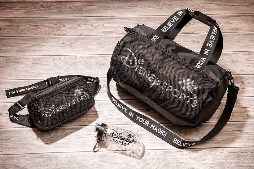 スポーツバッグとボディバッグの画像