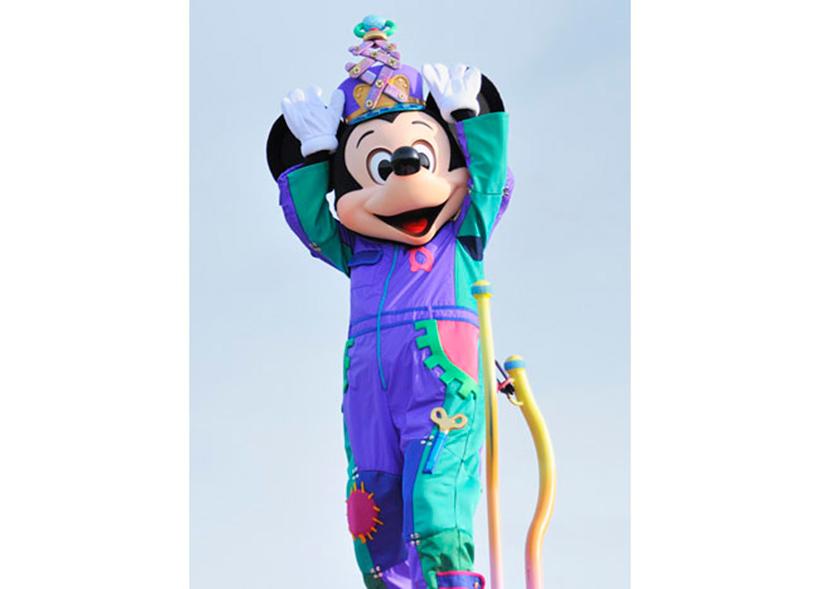 「ウサ・タマ・ボン!」ポーズのミッキーマウスの画像