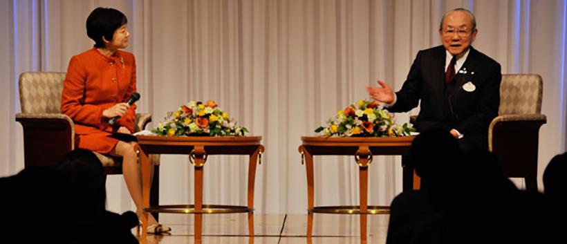 講演会の風景