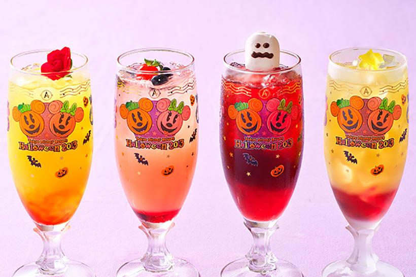 スペシャルノンアルコールカクテルとコレクタブルグラスの画像