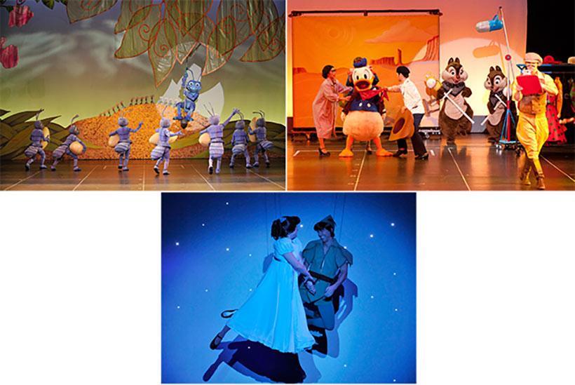 「ワンマンズ・ドリームⅡ -ザ・マジック・リブズ・オン」のドナルドやピーターパンのシーンの画像