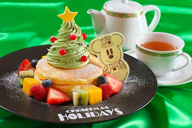ディズニーホテルのクリスマススペシャルメニューの画像