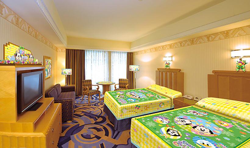 「ディズニー・イースター」と連動したホテルの客室の画像