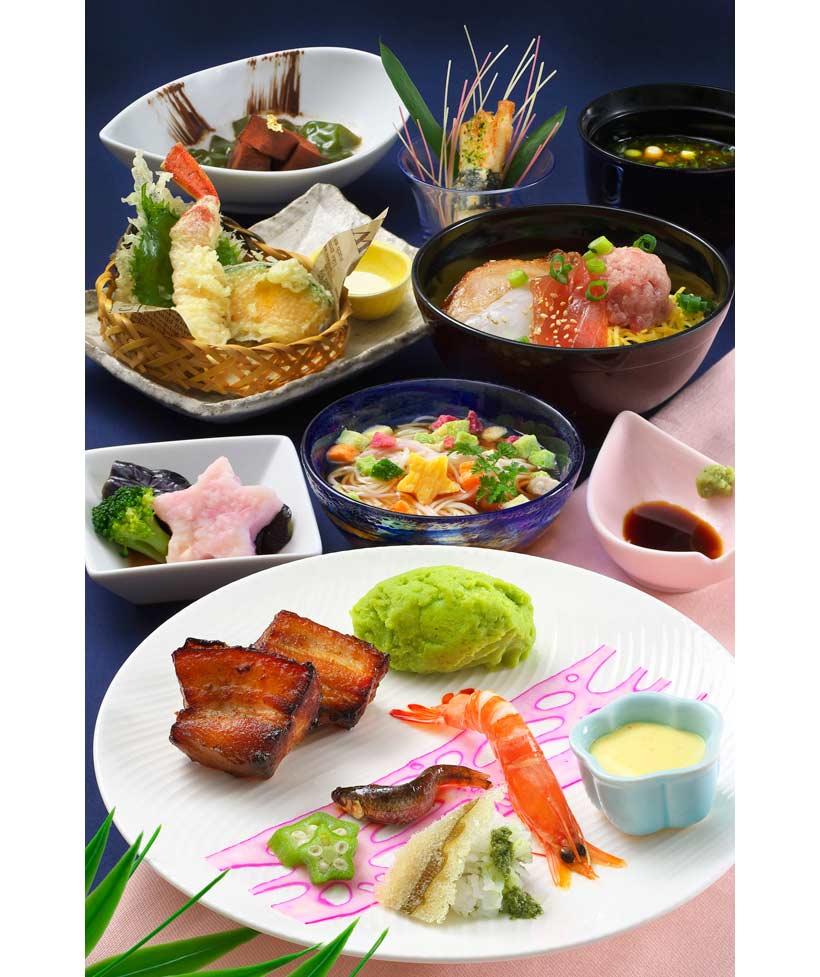 レストラン櫻のランチメニュー画像