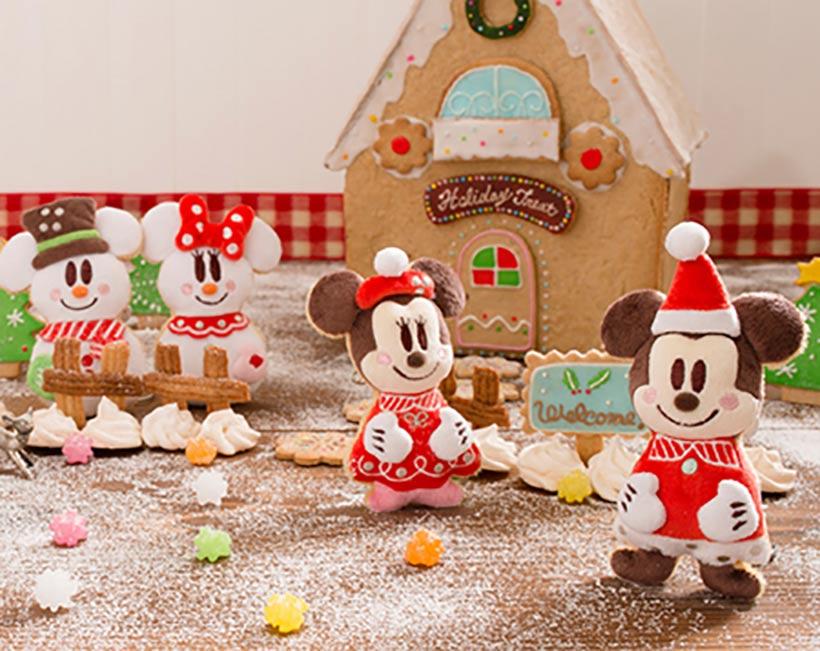 アイシングクッキーのミッキーとミニーの画像