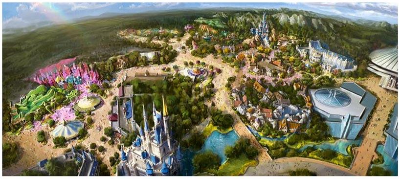 東京ディズニーランド「ファンタジーランドの再開発」(イメージ)画像