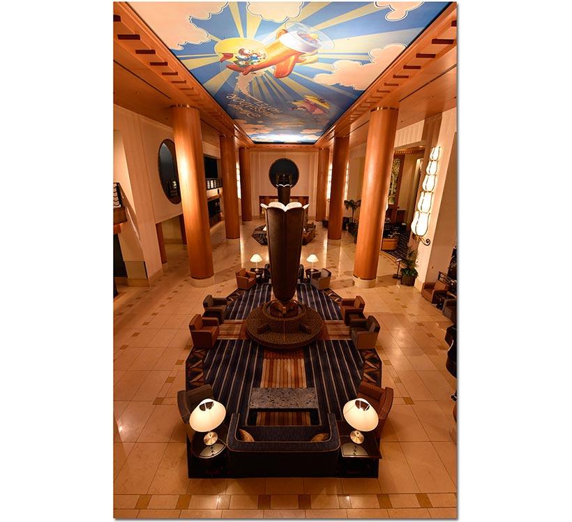 ディズニーアンバサダーホテル館内の画像