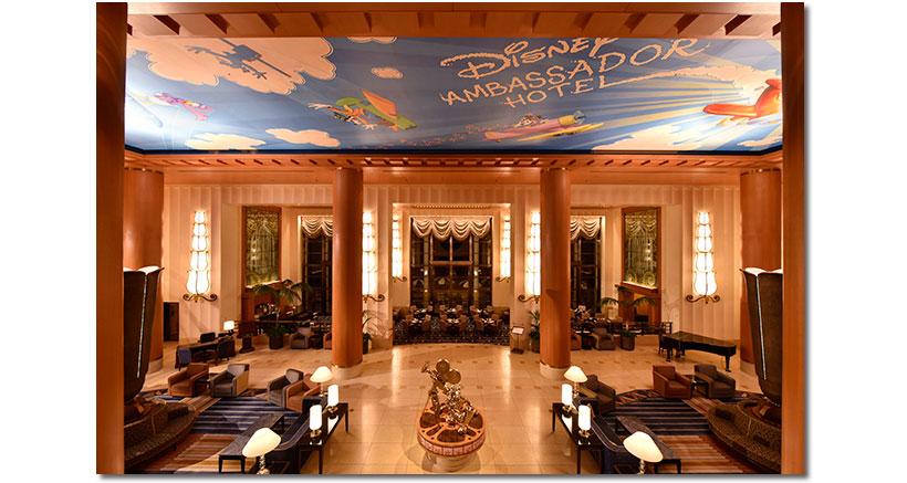 ディズニーアンバサダーホテルの内観画像
