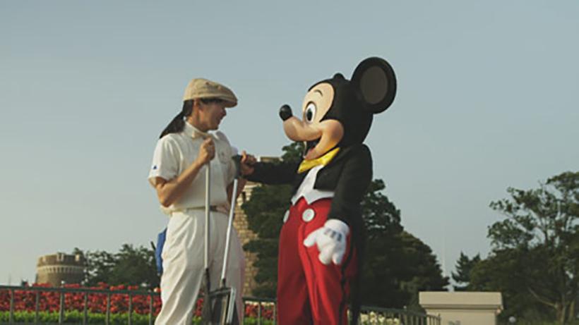 ミッキーとキャストの画像