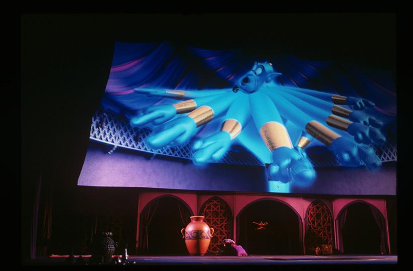 マジックランプシアターのジーニーの画像