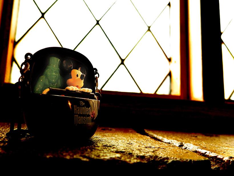 ホーンテッドマンションのミニスナックケース画像