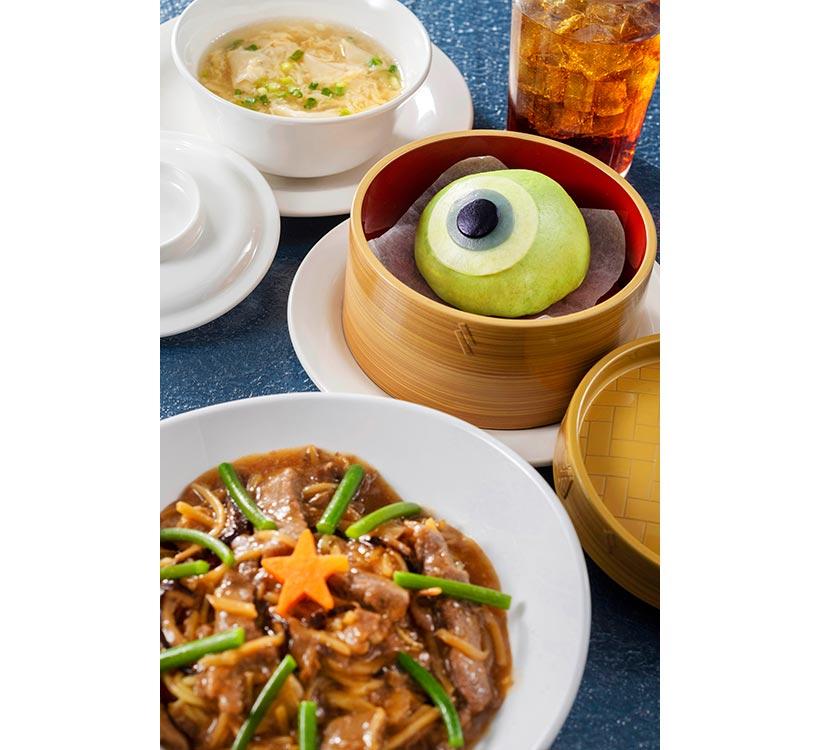 「ヴォルケイニア・レストラン」のスペシャルセット画像