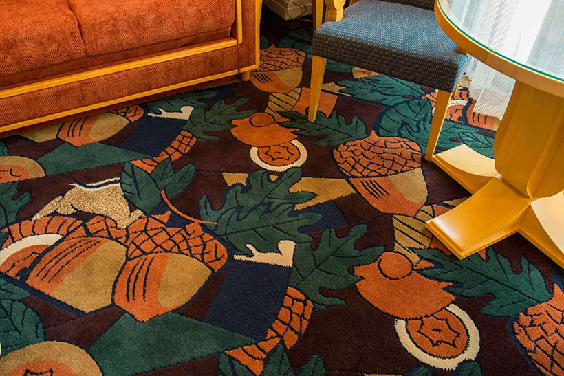 チップとデールルームの床の画像