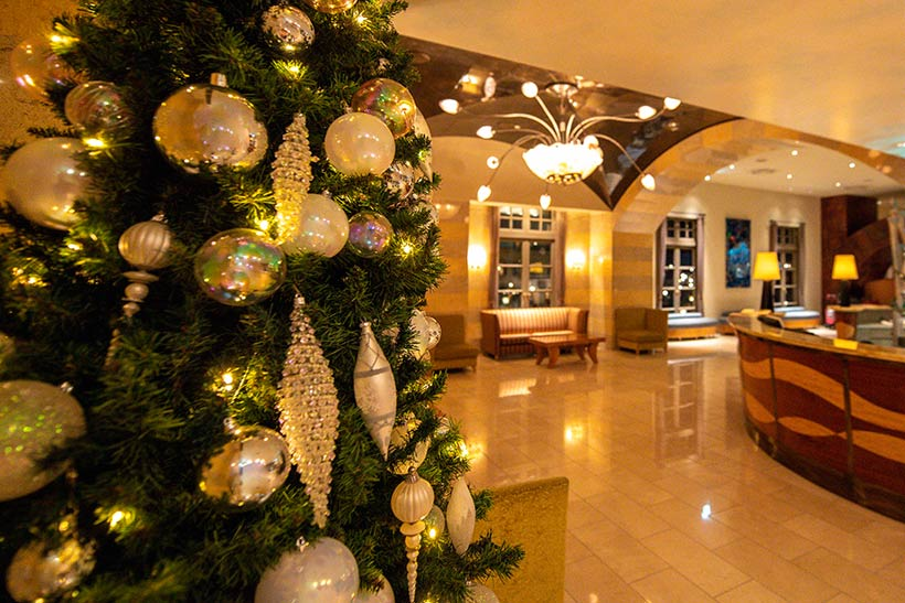 オチェーアノ,装飾されたツリー、