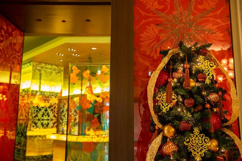 カンナ,クリスマスツリー