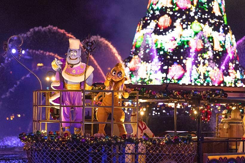 カラーオブクリスマスのジーニーとアブーの画像