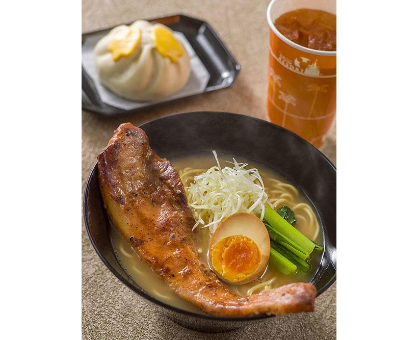 ブラックペッパーポーク麺の画像