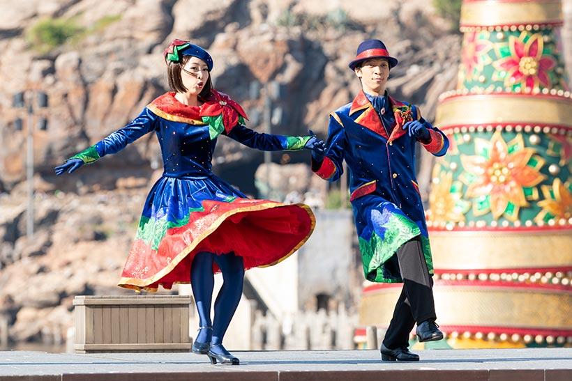 ロマンティックなカップルのダンサーの画像