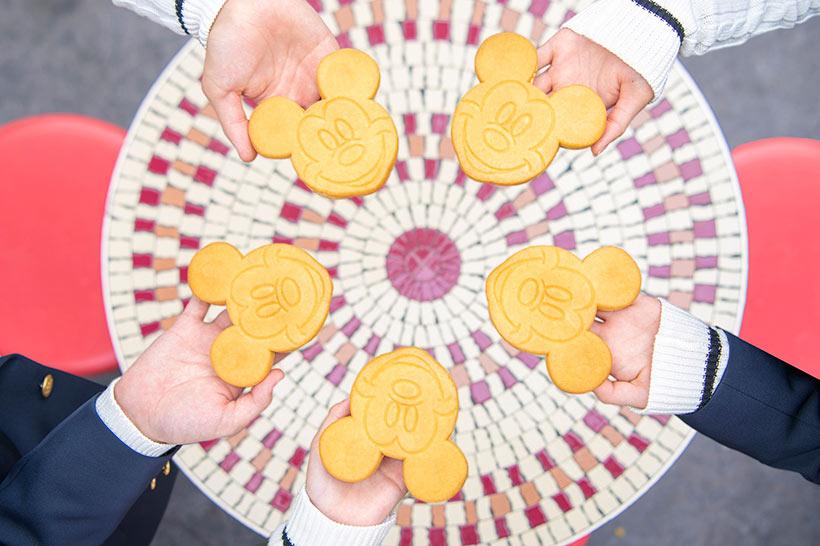 ミッキーカステラケーキの画像