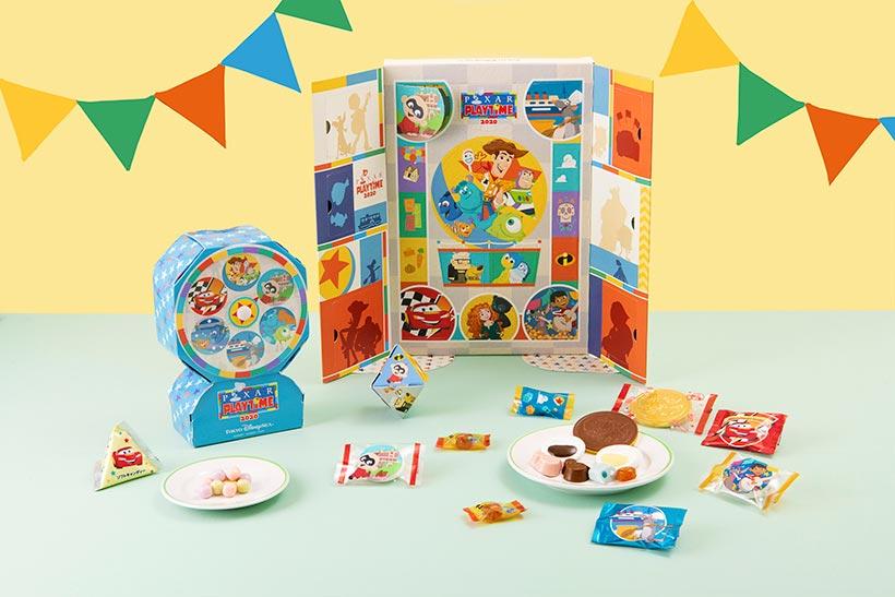 ボードゲーム風のお菓子の画像