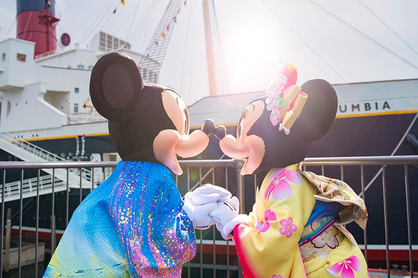 ミッキーとミニーの画像