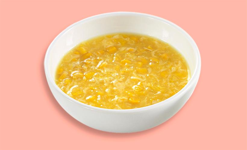 中華風コーンスープの画像