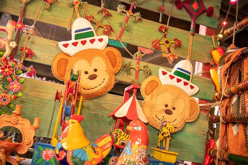 屋台のおもちゃの画像