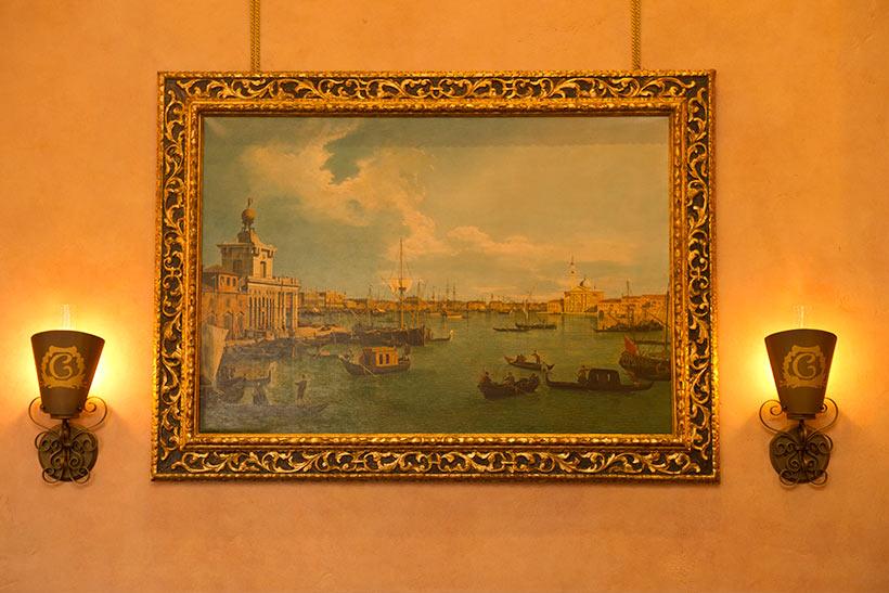 「リストランテ・ディ・カナレット」の絵画