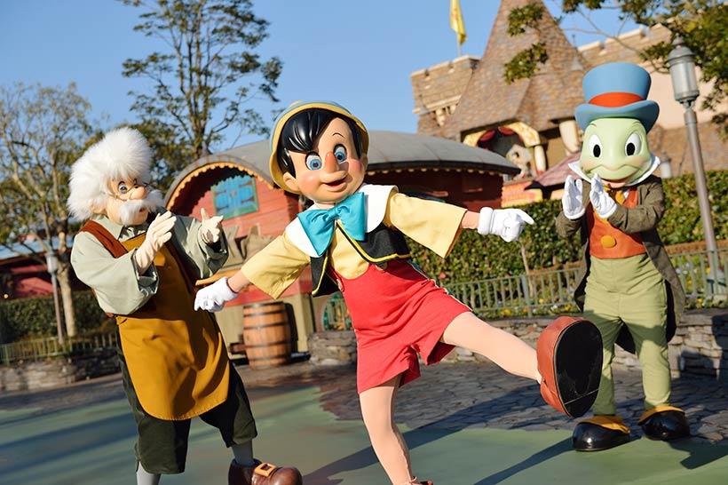 ピノキオとゼペットさん、ジミニークリケットの画像