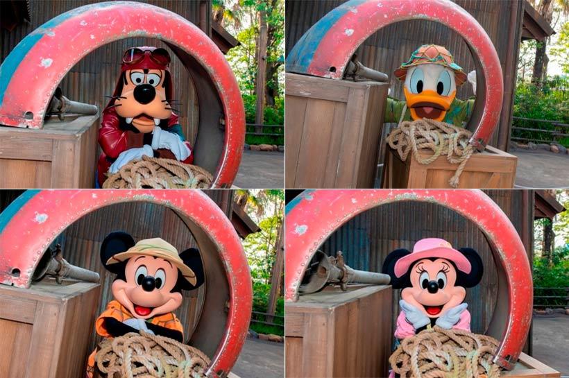 ミッキー、ミニー、ドナルド、グーフィーの画像